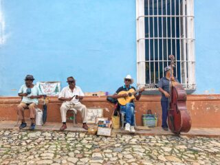 Salsa music - Trinidad, Cuba (photo: Dave Lee)