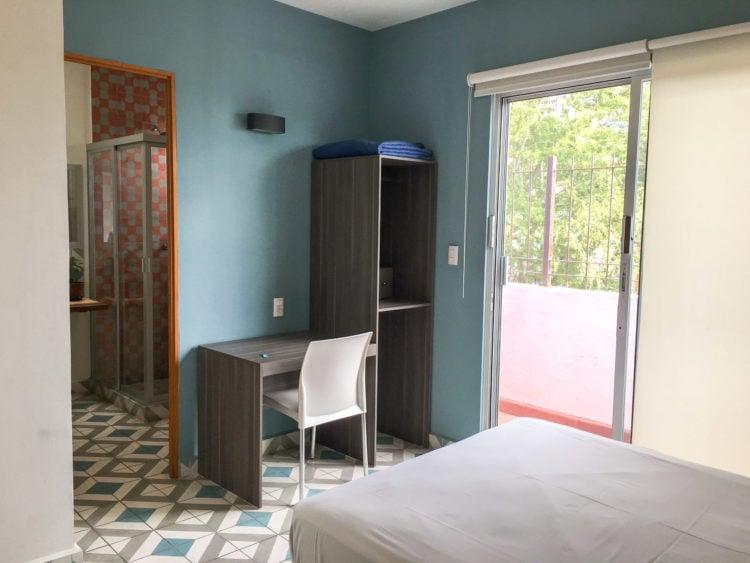 Private hostel room w/balcony - Casa Angel in Oaxaca, Mexico
