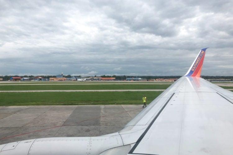 Southwest flight - Havana, Cuba