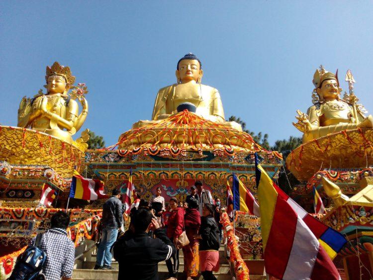 Buddha statues in Nepal