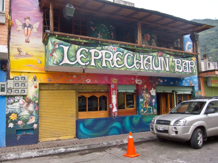 Leprechaun Bar is a favorite amongst both the locals and tourists