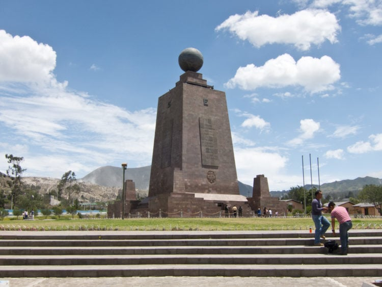 Mitad del Mundo (monument built 100m from the actual Equator line)