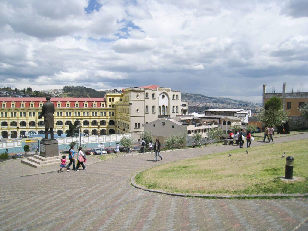 Near Quito's historic center