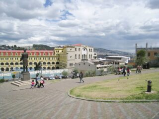 Near Quito's historic center