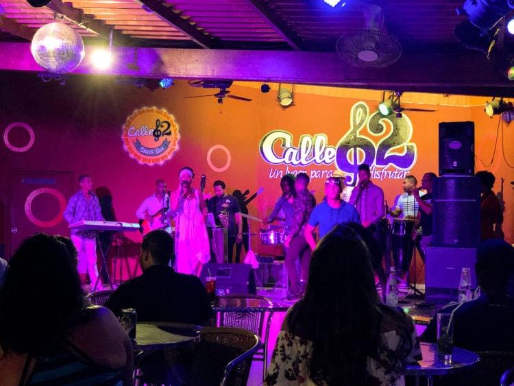 Live salsa music in Cuba