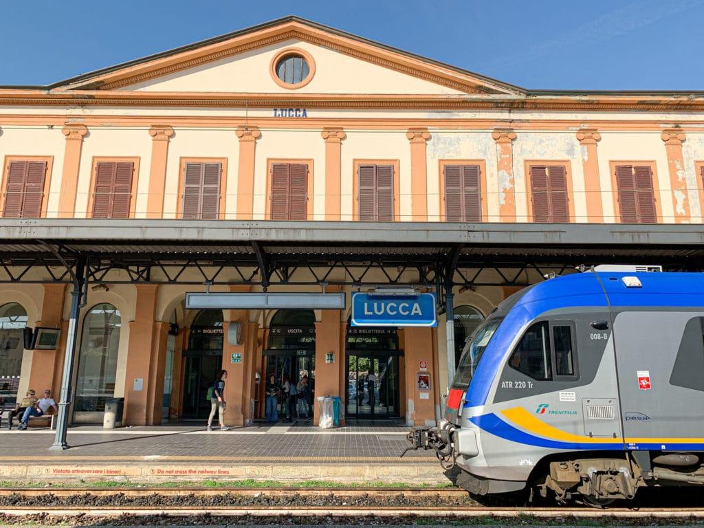 Train station - Lucca, Tuscany