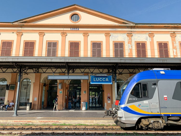 Train station - Lucca, Tuscany