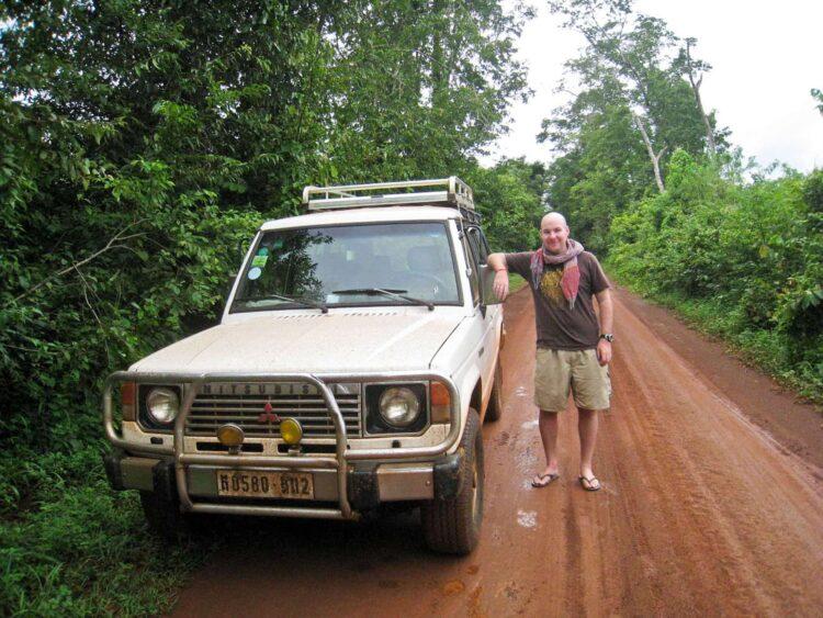 4x4 in Cambodia