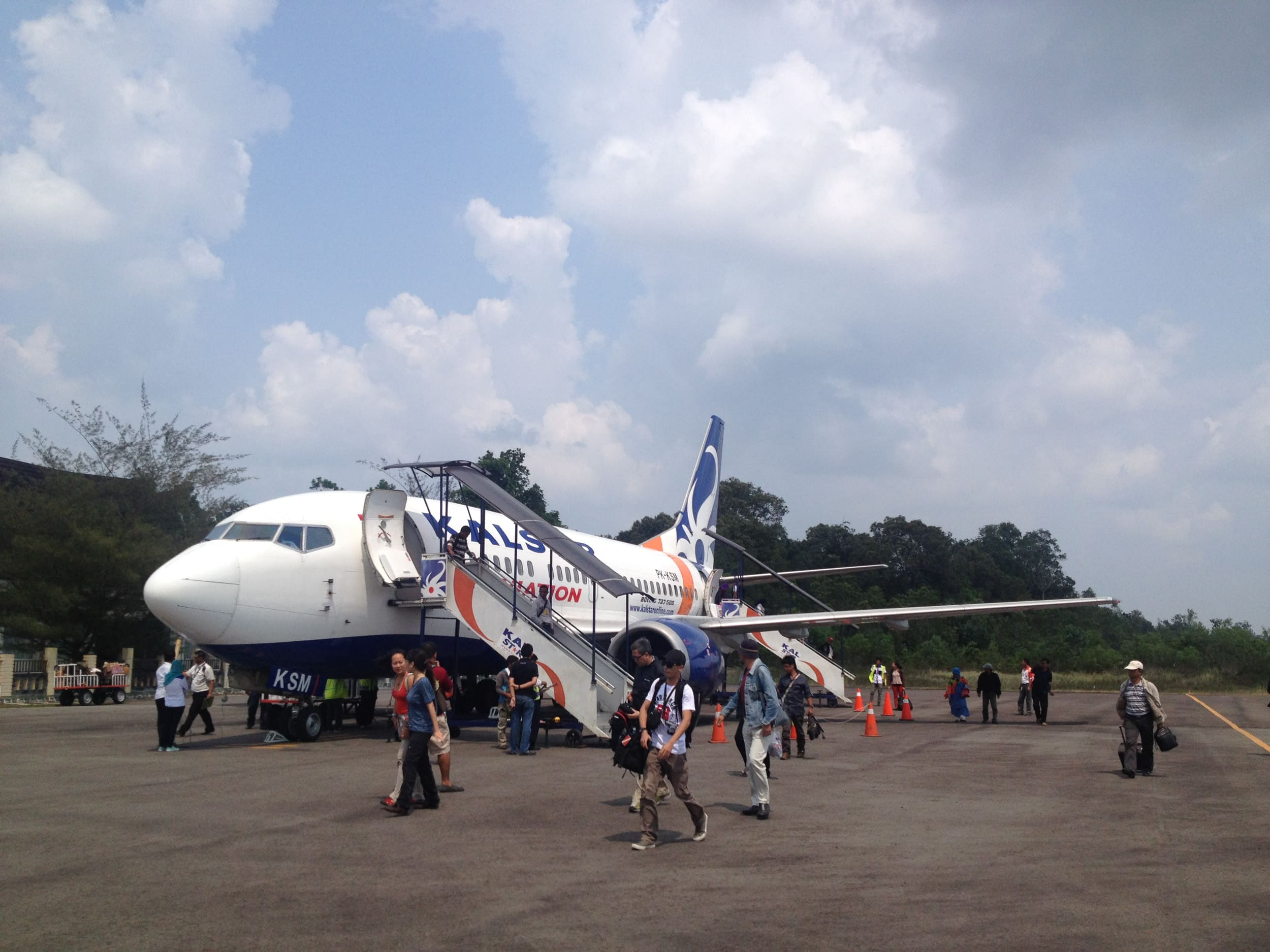 Flights are a factor when calculating the cost of travel in Indonesia.