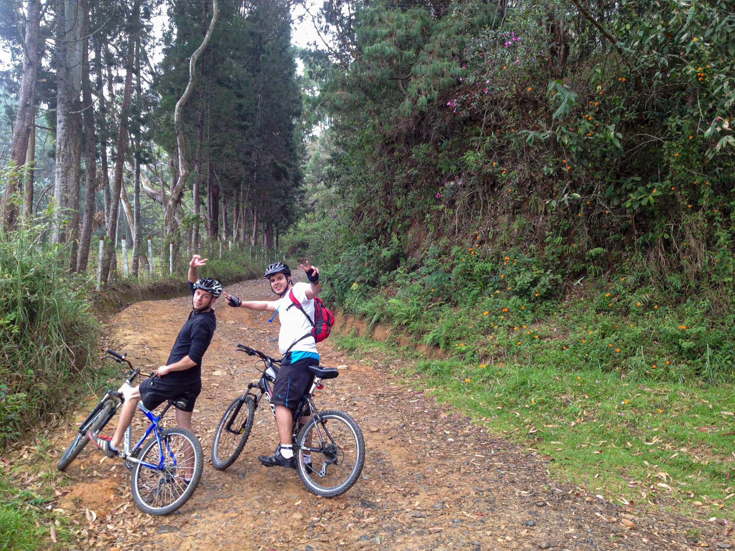 Colombian mountain biking guides