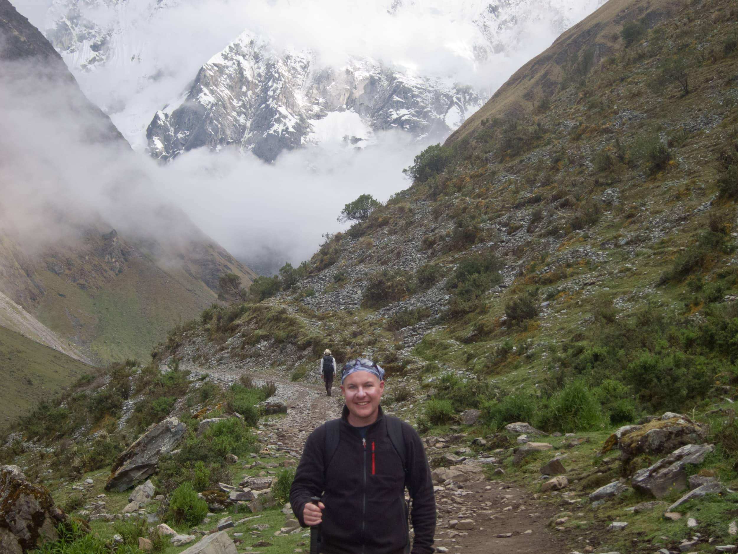Dave on Salkantay trek