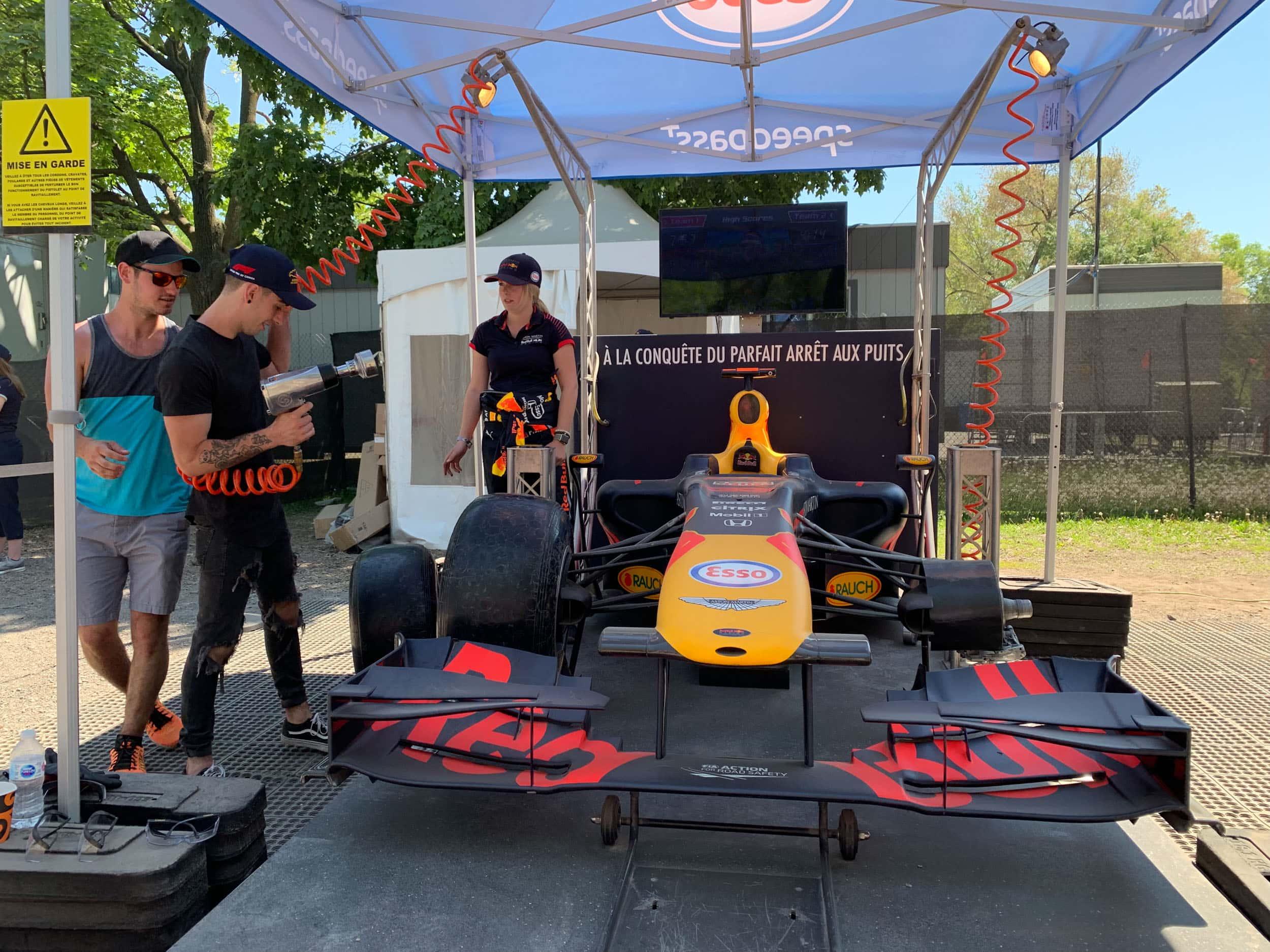 F1 demo car