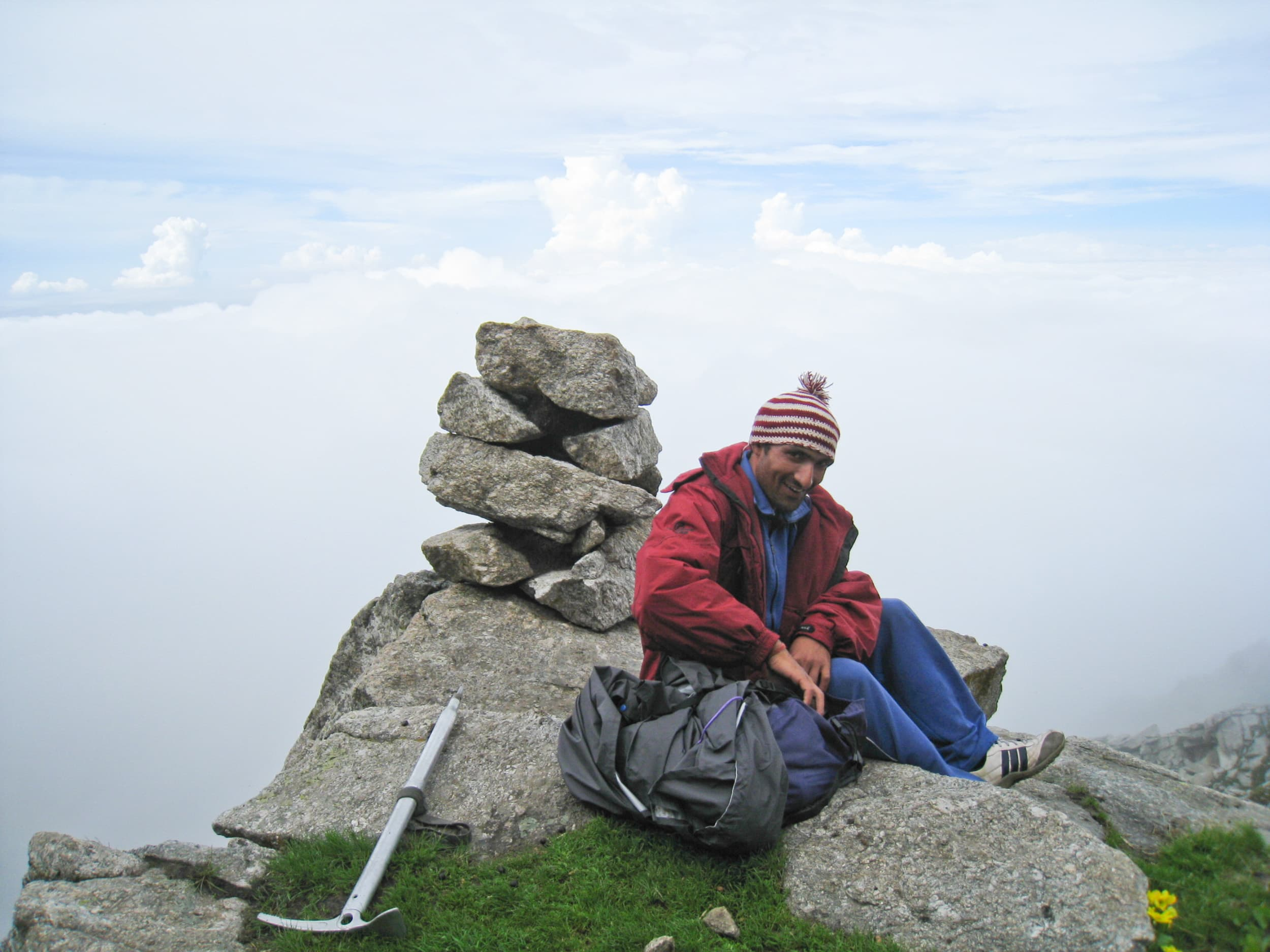 Ashok, an adventure travel guide in northern India