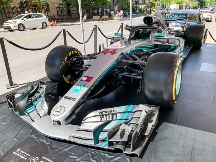 Lewis Hamilton's F1 Mercedes