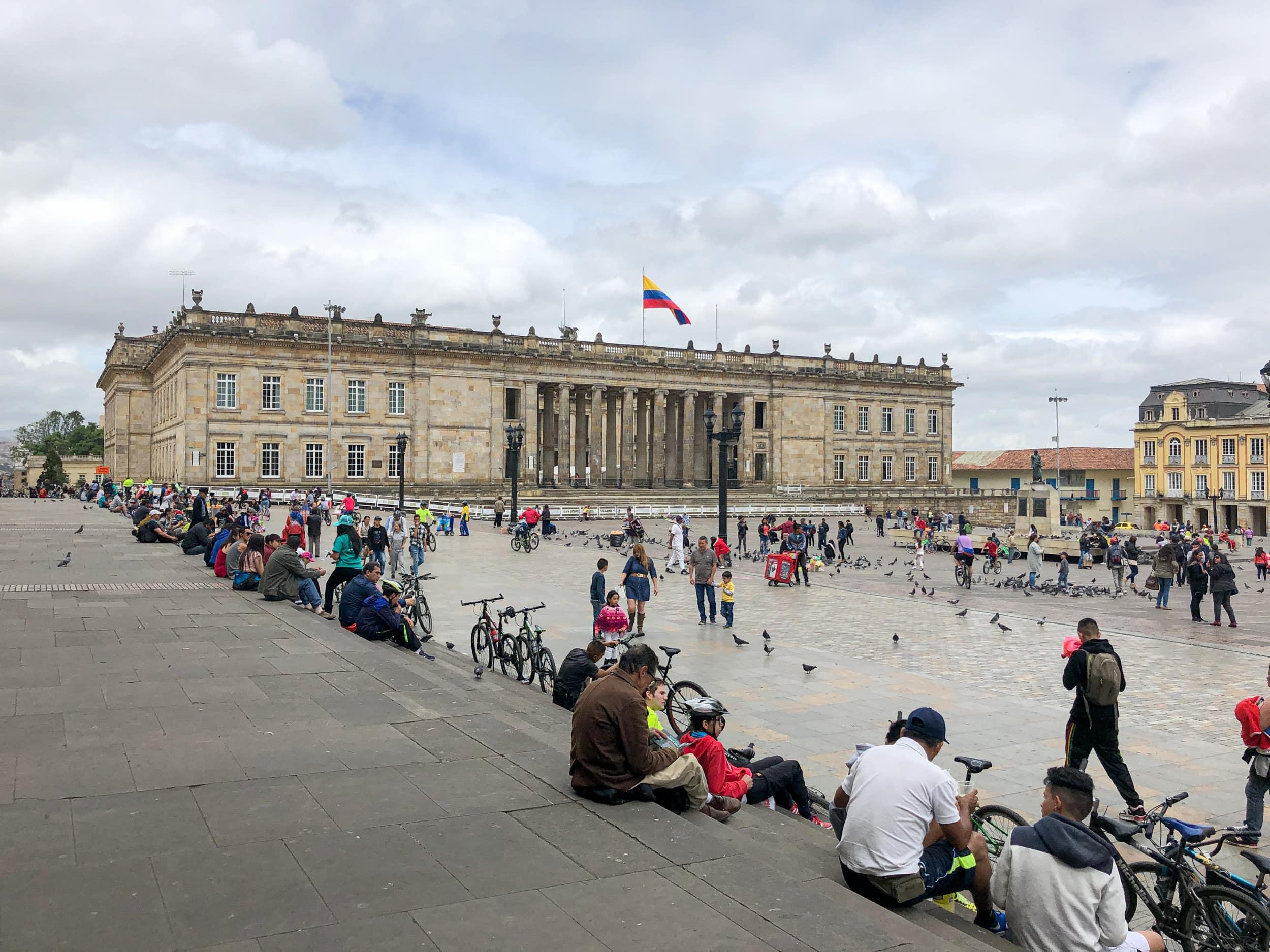Plaza Bolivar - Bogota, Colombia