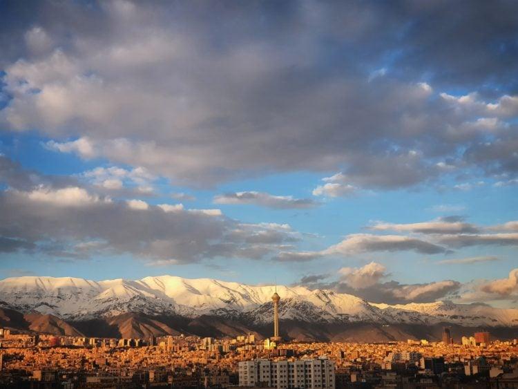 Tehran, Iran (photo: Mohammad Rezaie, Unsplash)