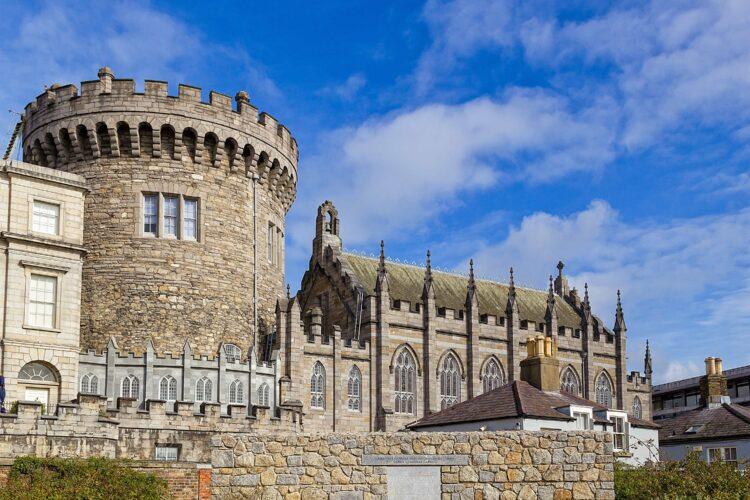 Dublin Castle (photo: papagnoc, Pixabay)