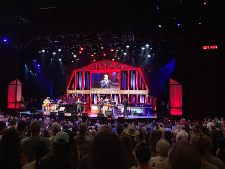 Lee Greenwood performs at the Grand Ole Opry