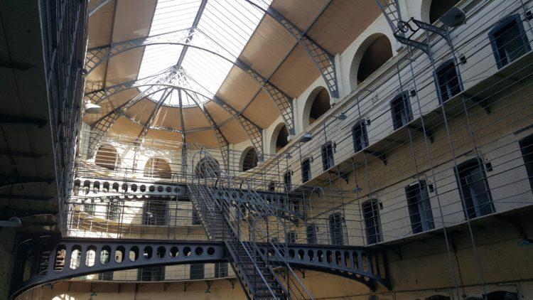 Kilmainham Gaol prison (photo: Jim McIntosh, Pixabay)