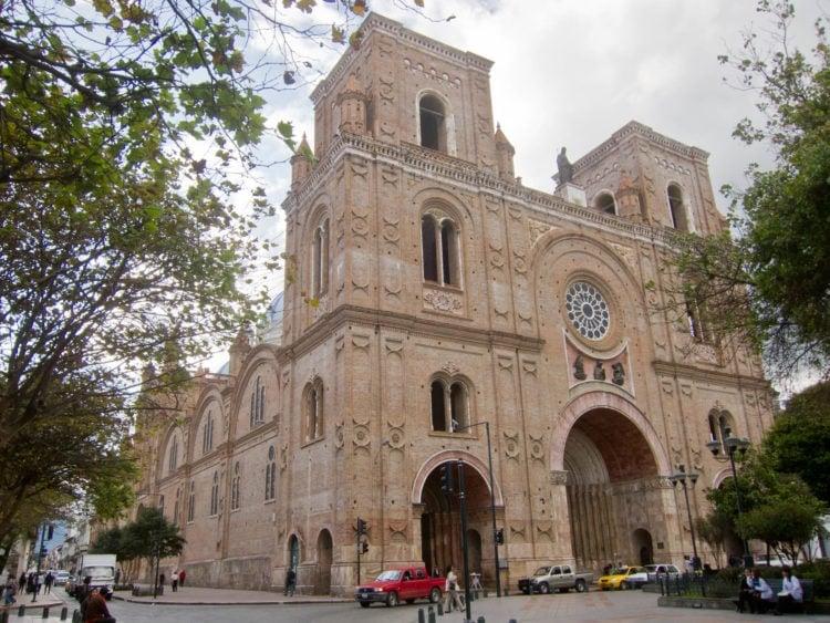 La Catedral in the heart of Cuenca's historic city center