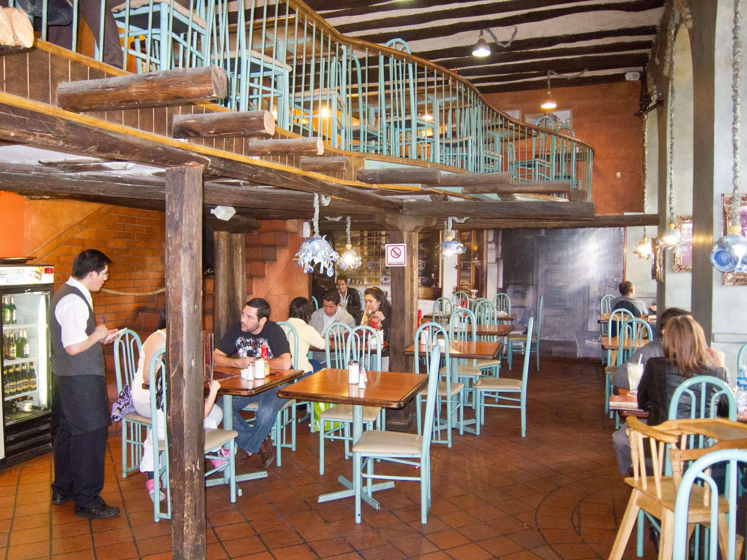 Raymipampa restaurant