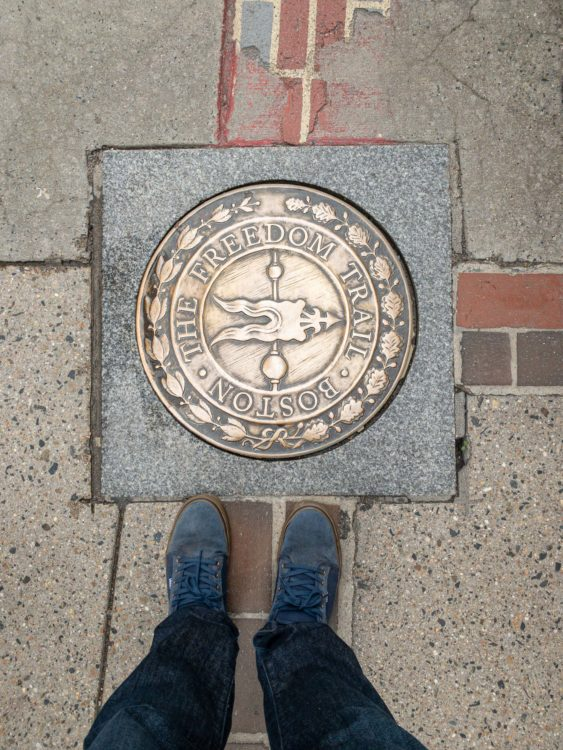 The Freedom Trail seal
