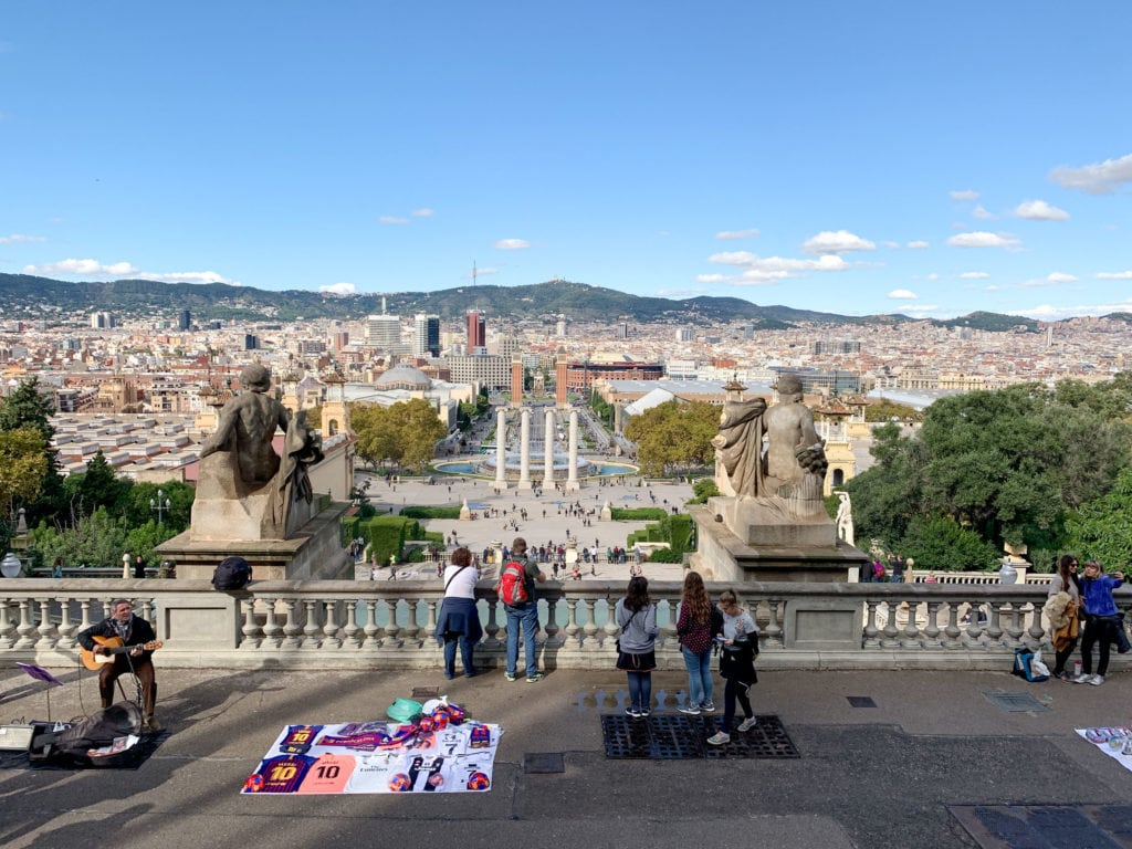 Petty theft is an ongoing problem in Barcelona, Spain