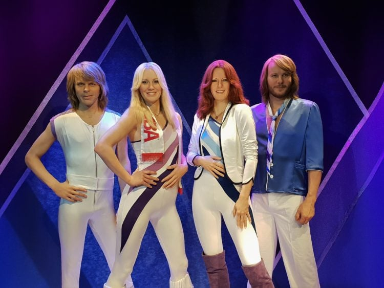 ABBA members in wax (photo: pasja1000, Pixabay)