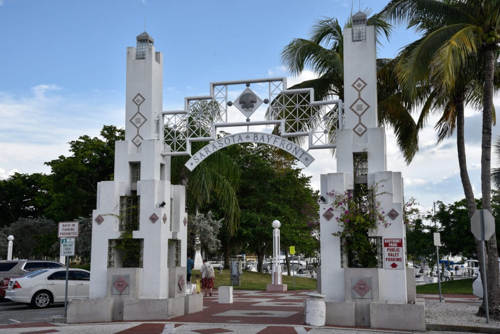 Bayfront Park in Sarasota is perfect for an afternoon stroll