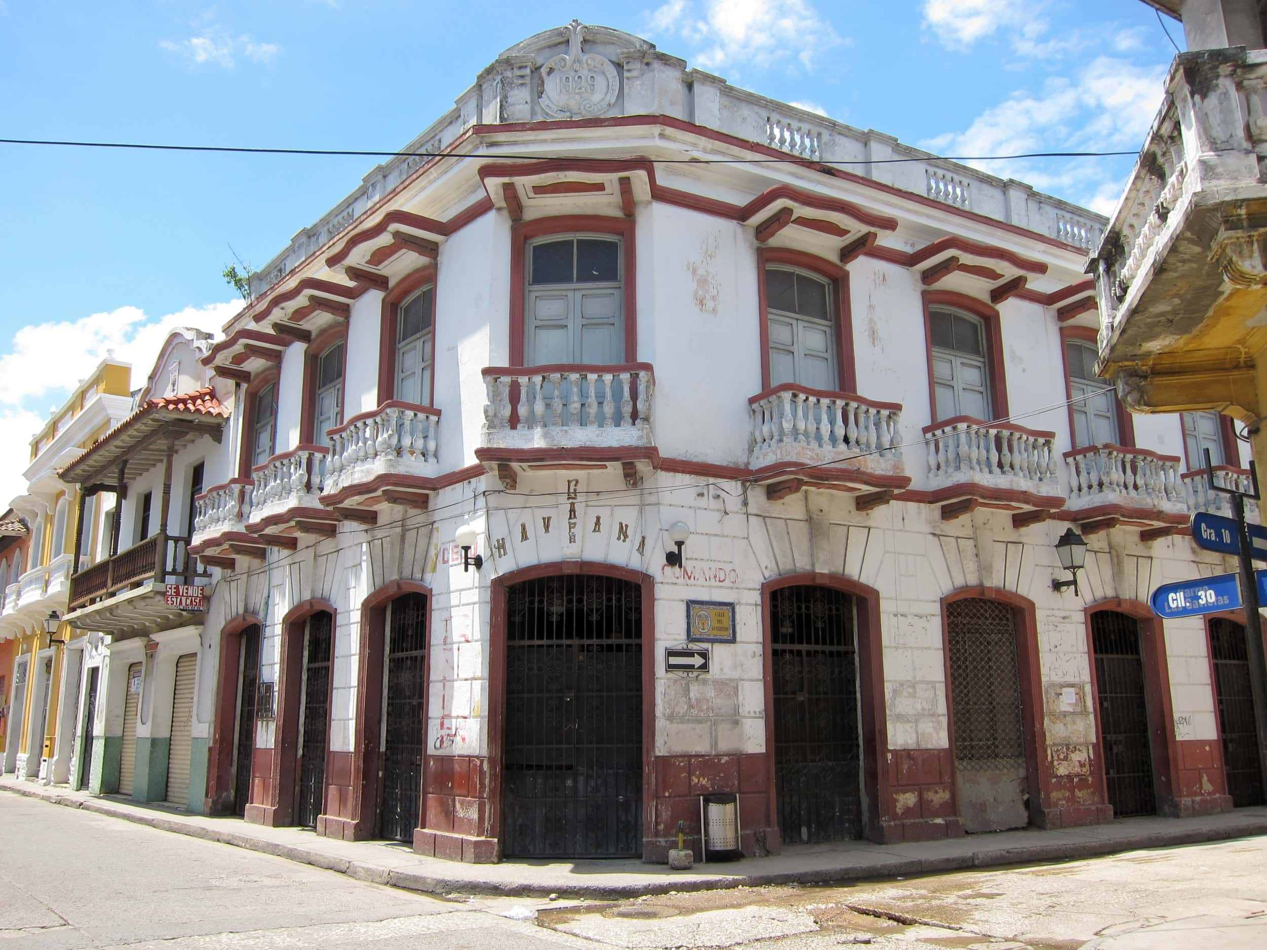 Cafe Havana in barrio Getsemani is a popular nightspot for salsa dancing