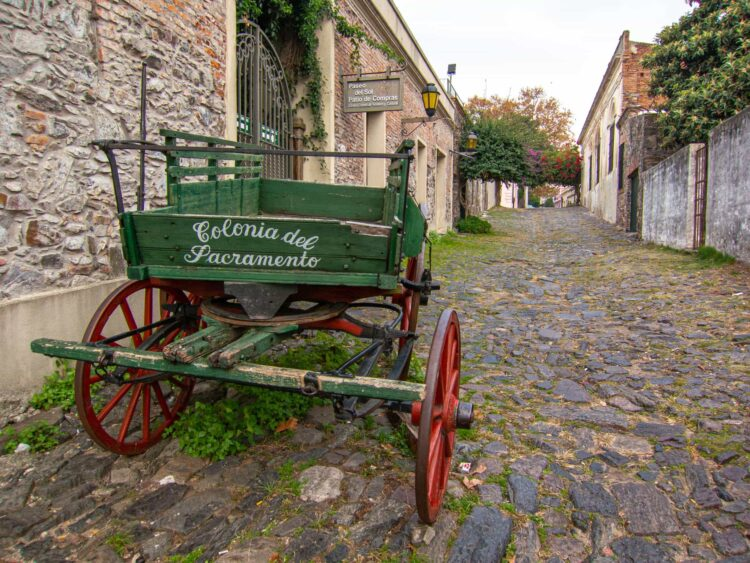 Colonia del Sacramento's historic city center