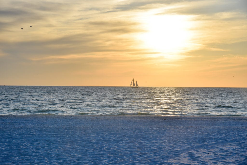 Coquino Beach is one of the most popular beaches on the Gulf Coast