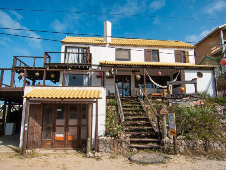 Entrance to Casa de las Boyas