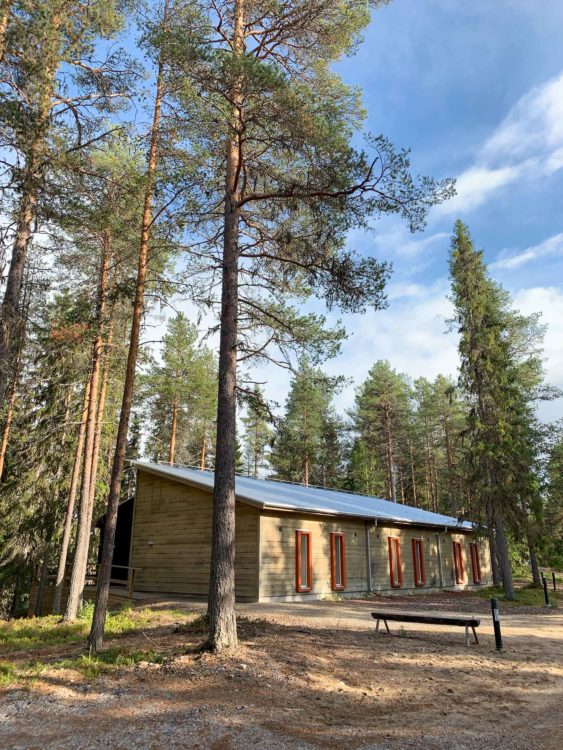 Eco-hotel at Granö Beckasin