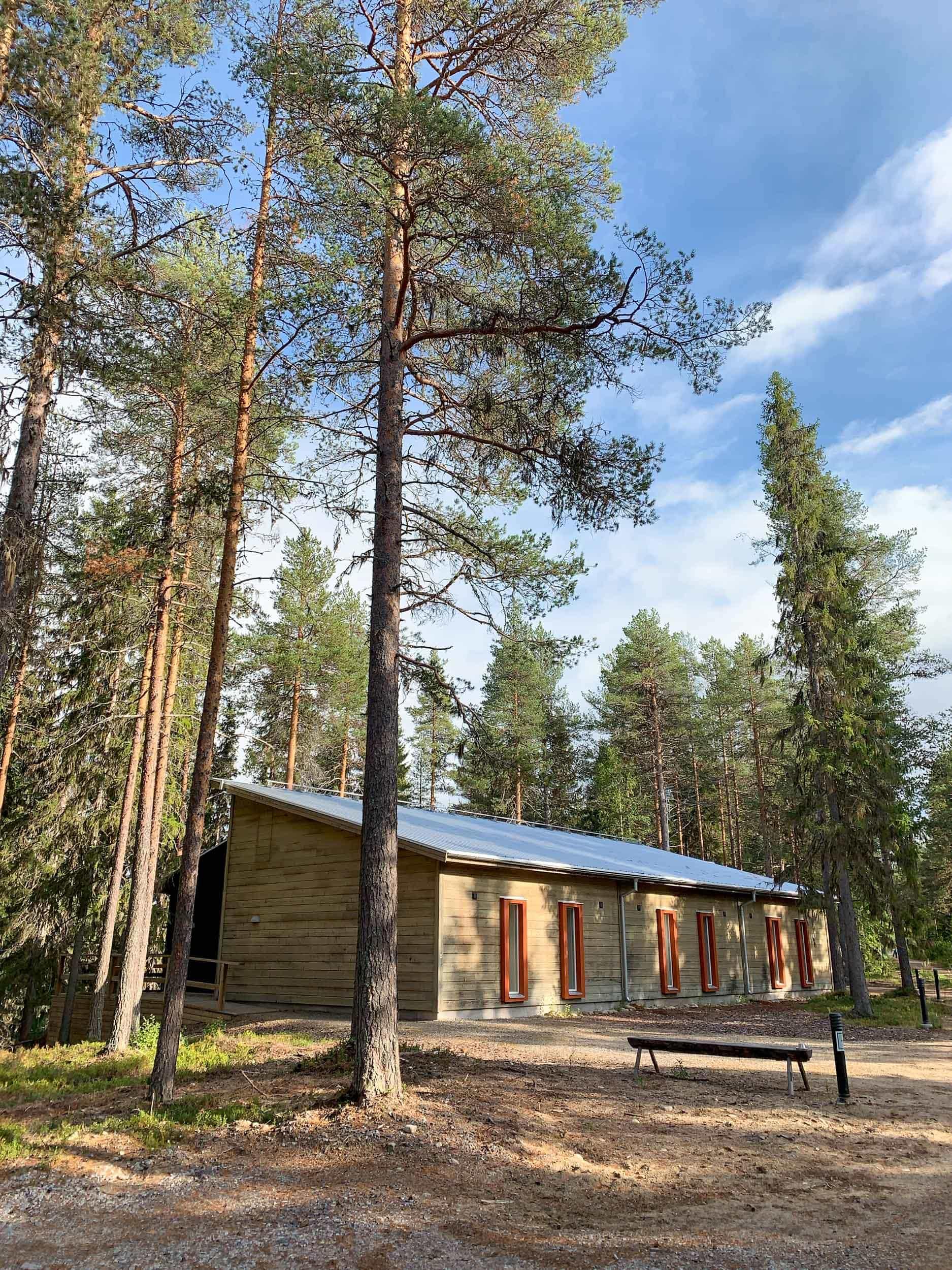 Eco-hotel at Granö Beckasin