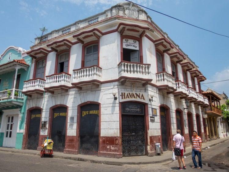 Cafe Havana is a popular salsa spot in Getsemani
