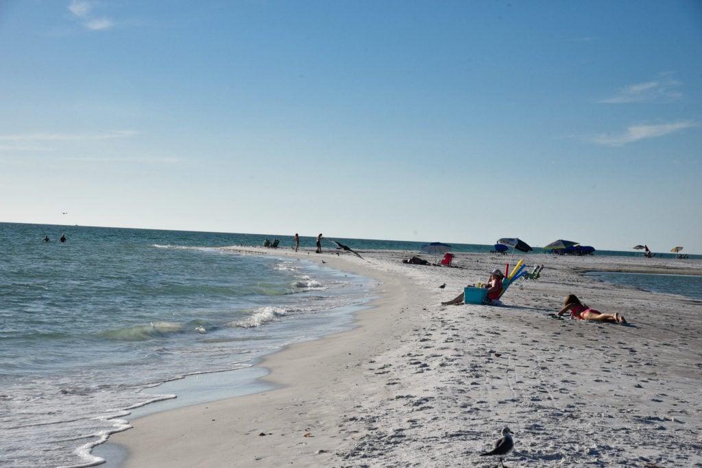 Lido Key Beach is one of the most beautiful beaches near Sarasota
