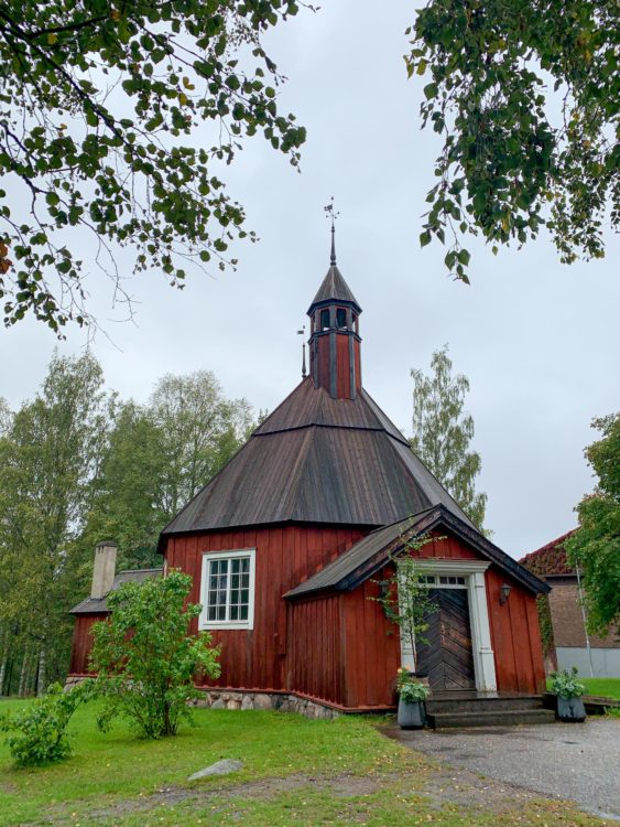 The first church in Västerbotten