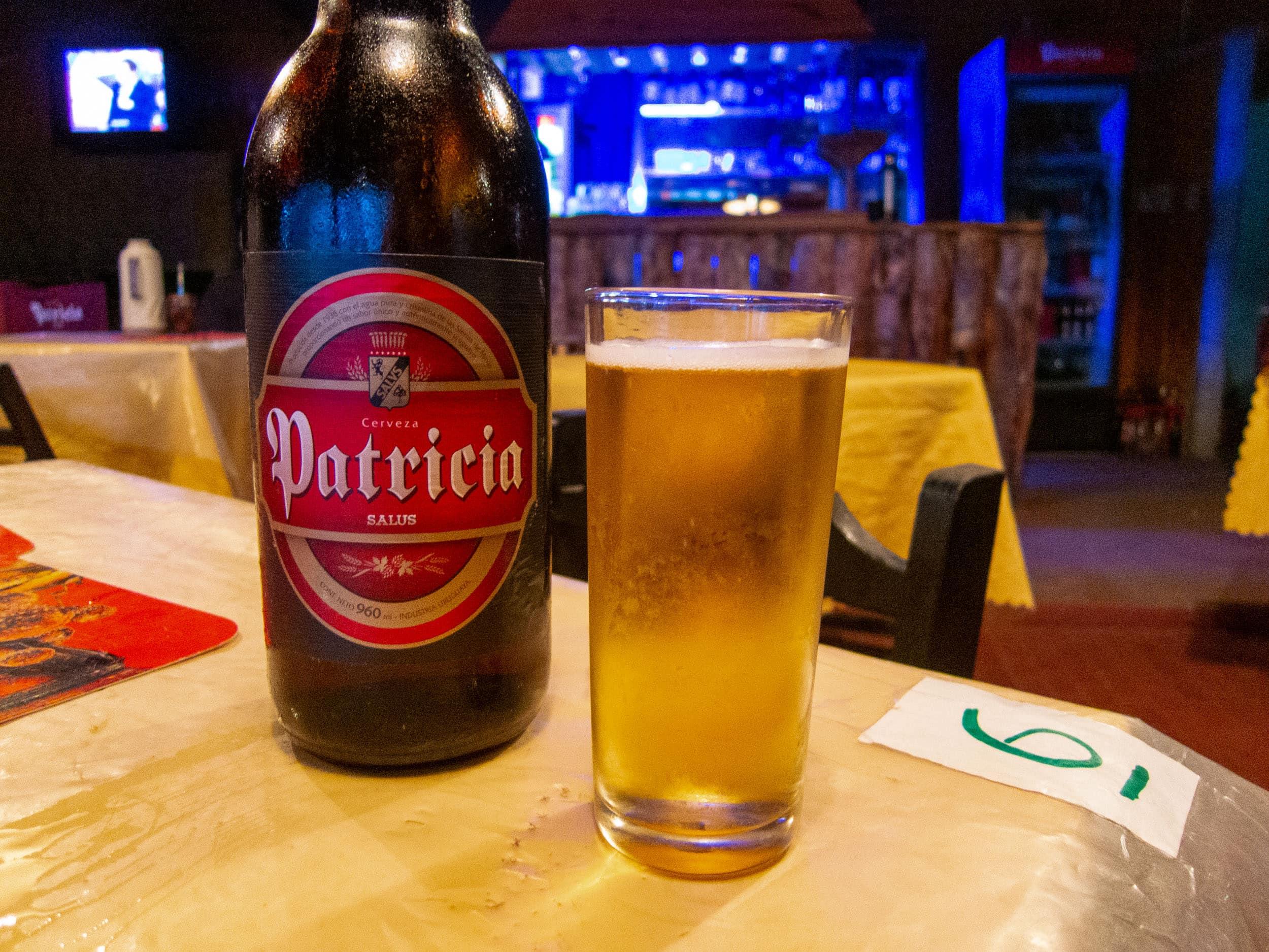 1-liter bottle of Patricia