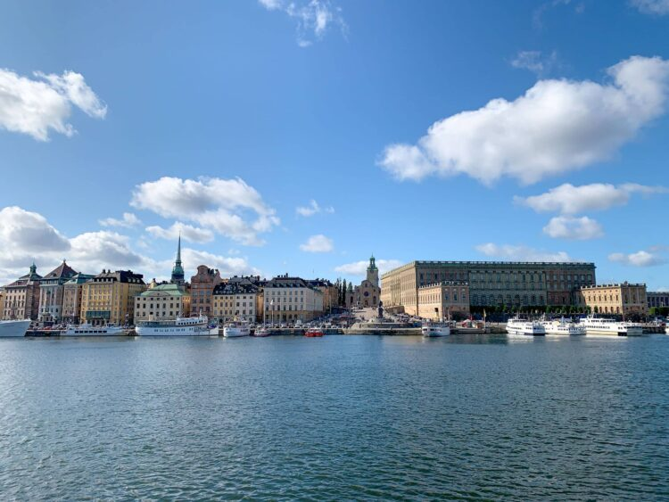 View of Stockholm's Old Town