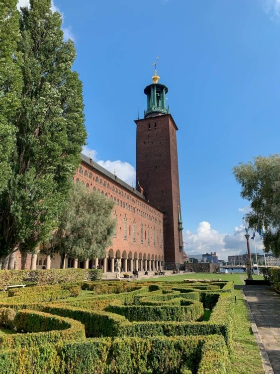 Visiting Stockholm City Hall was one of my favorite things to do