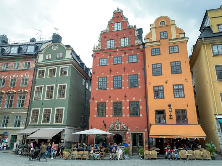 Stortorget is the oldest square in Stockholm, Sweden
