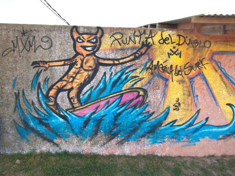 Street art in Uruguay