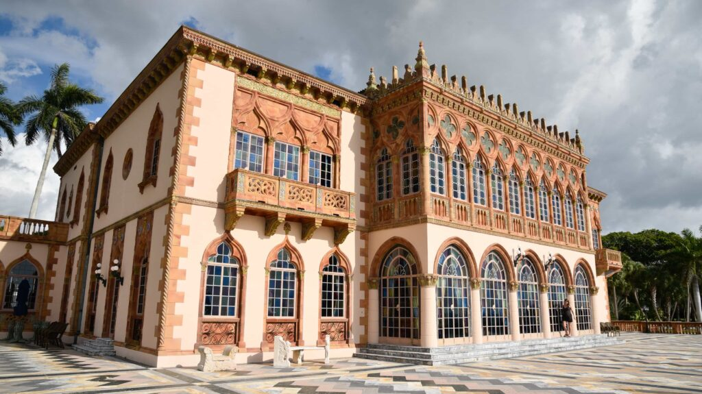 The Ringling Museum of Art is free for visitors on a Monday