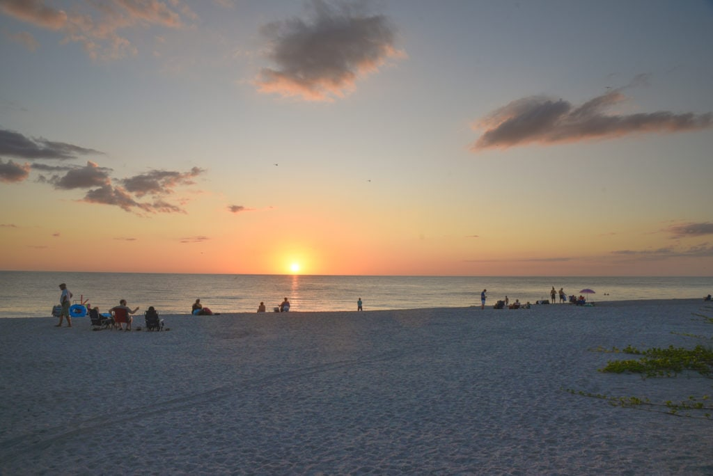 Turtle Beach is one of the best free things to do in Sarasota