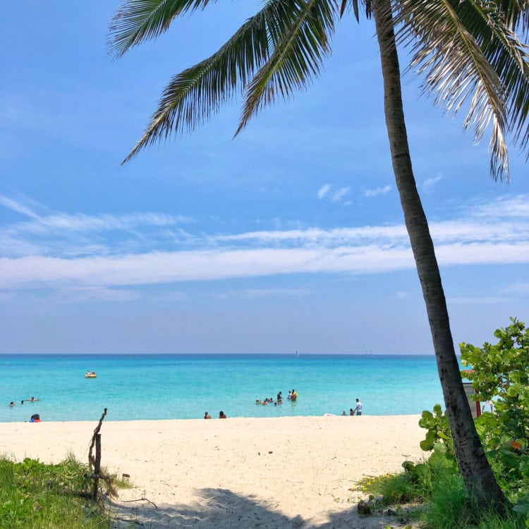 Varadero Beach is one of the best places to visit in Cuba