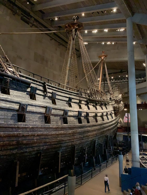 Visiting the Vasa Museum is one of the best things to do in Stockholm