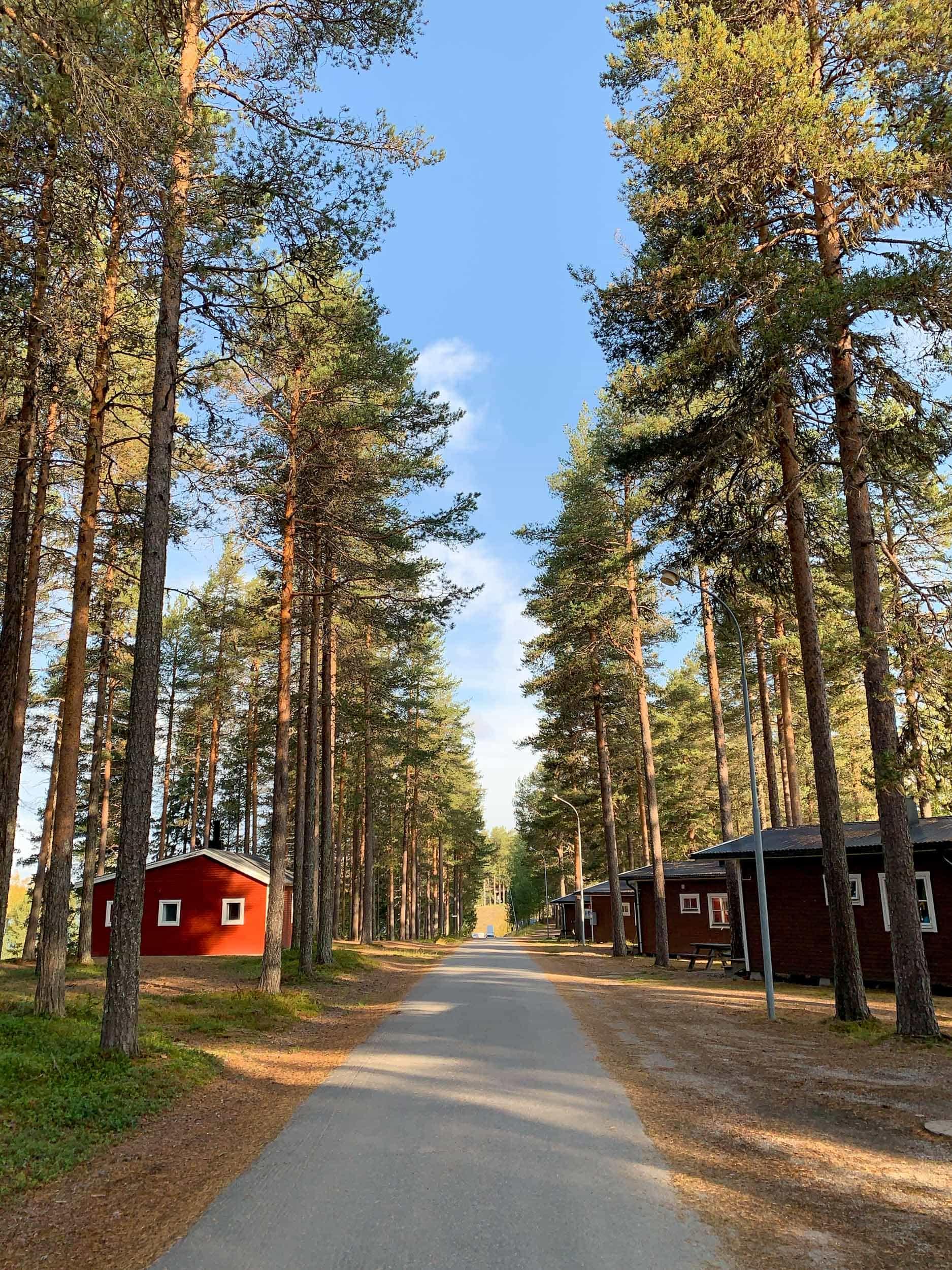 Cabins at Granö Beckasin
