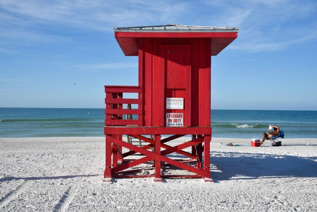 Siesta Key Beach - one of the nicest beaches in Sarasota