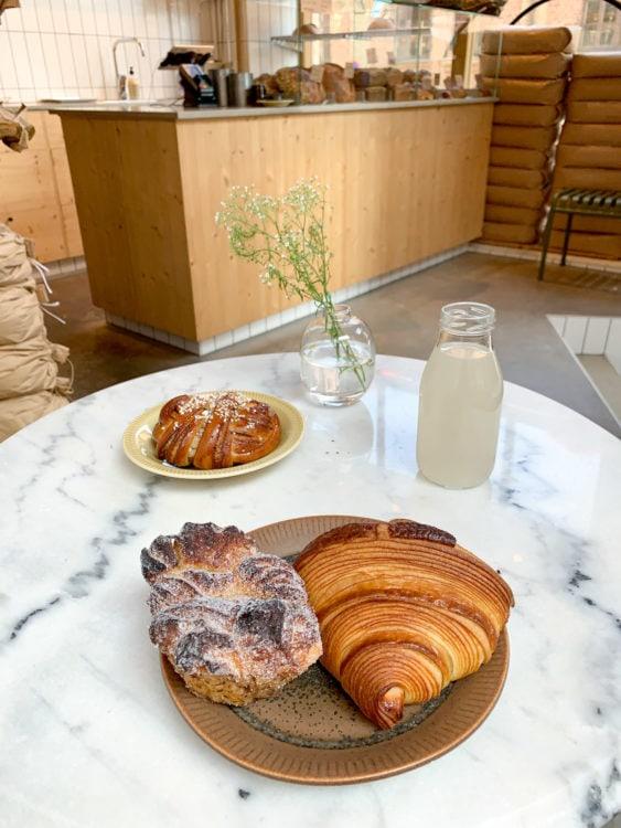 Pastries at Broderi Borgskog